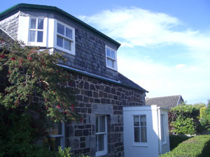 An external view of Marie Cottage Gullane
